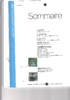 Sommaire - application/pdf